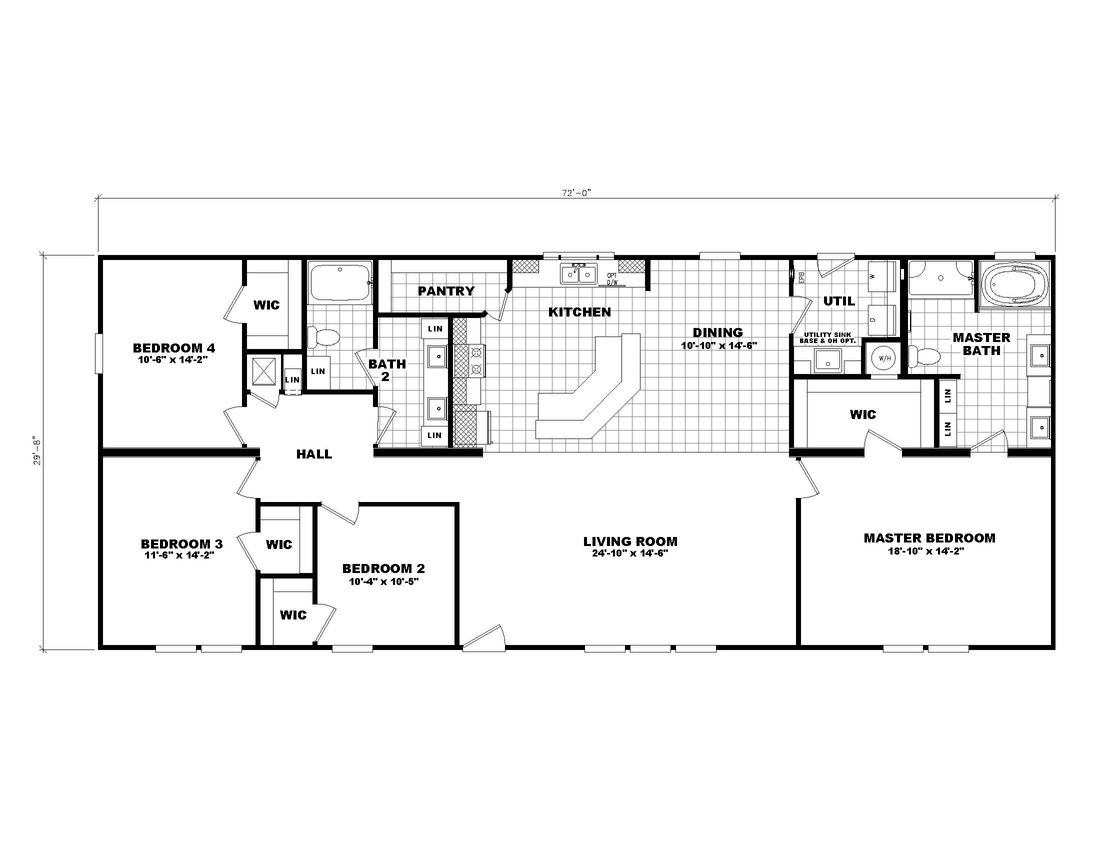 The 3554 JAMESTOWN Floor Plan