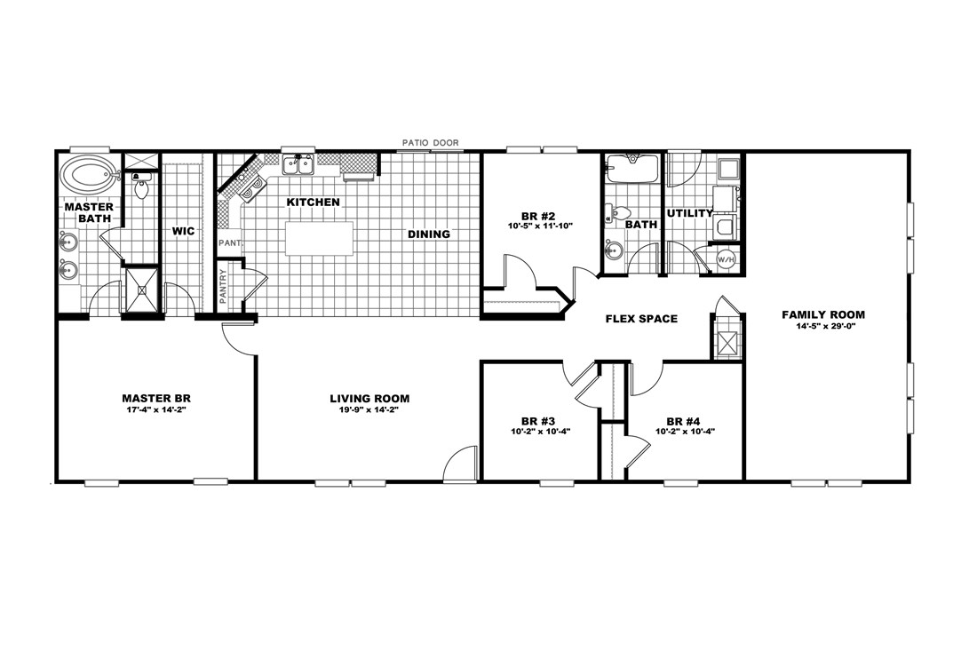 The 3548 JAMESTOWN Floor Plan